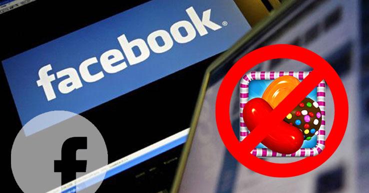 Meldingen Candy Crush en verjaardag blokkeren op Facebook