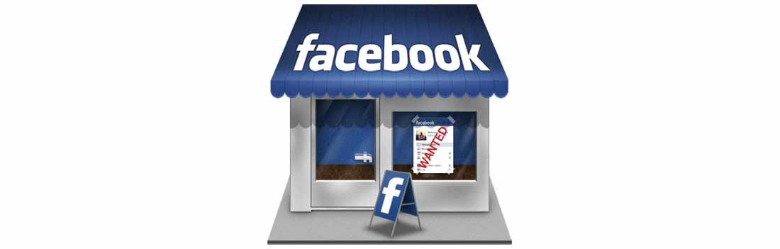 native facebook webshop