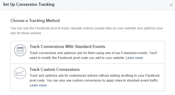 facebook pixel aangepaste conversie