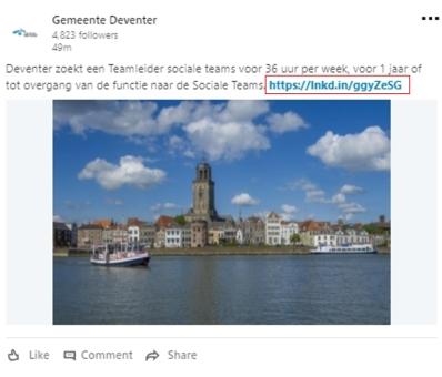 linkedin update link afbeelding-1