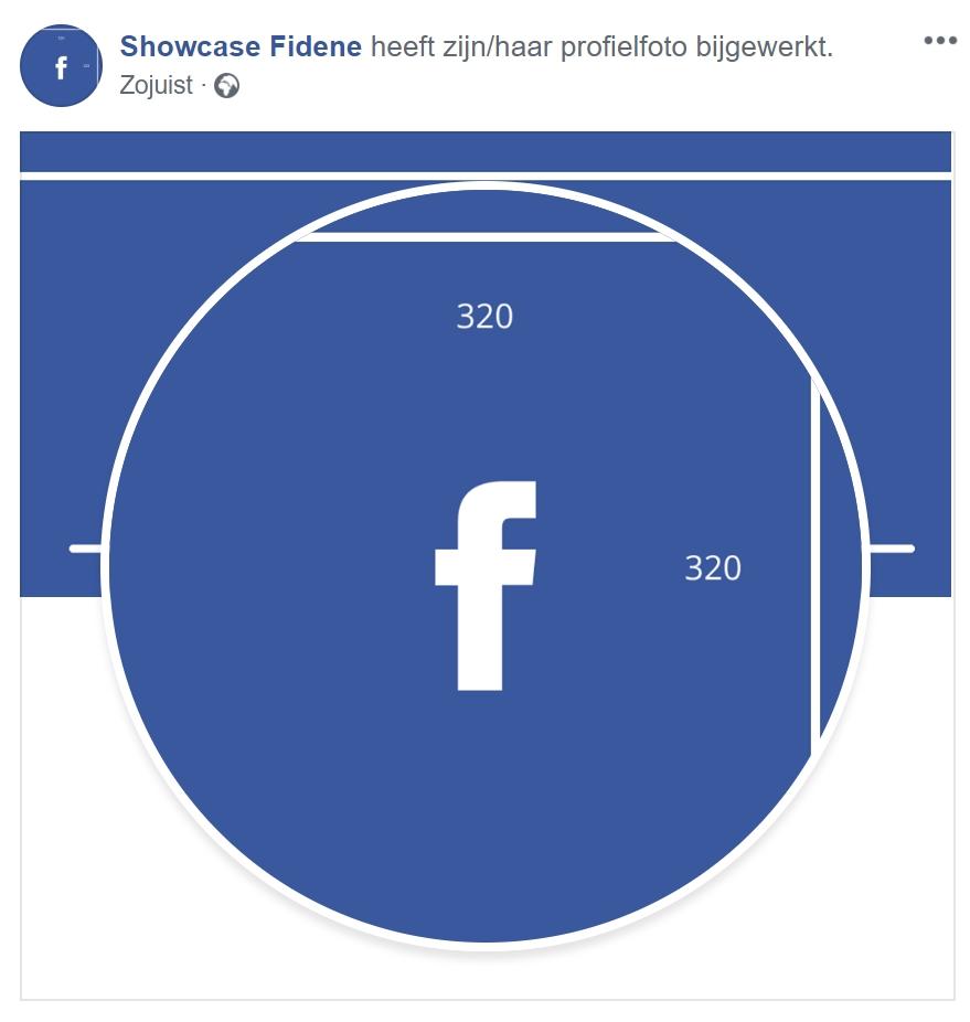 afmetingen facebook profielfoto 2019